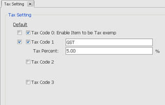 billing software multiple tax